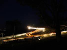 Phantom car lights by IAmMarauder