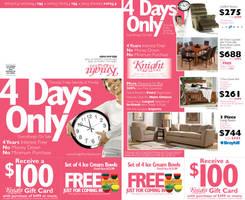 Knight Furniture Mailer by tlsivart