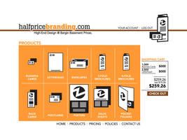 halfpricebranding.com by tlsivart