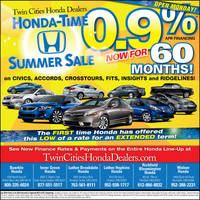 Honda-Time Summer Sale by tlsivart