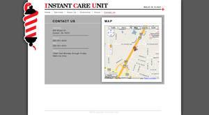 ICU Website 'Contact Us' by tlsivart