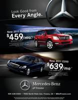 Mercedes ad for Fresno Chamber by tlsivart
