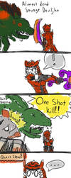 So this happened... I love MH4U by DerianRPG