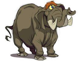 Elephant No. 2 by SuperStinkWarrior