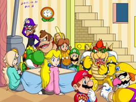 Mario family by doctorWalui