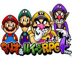 Mario,Luigi,Wario and Waluigi RPG 4ww by doctorWalui