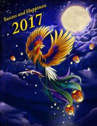 Happy Lunar New Year! by Aunumwolf42