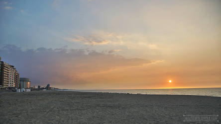 Oostende Beach by fucute