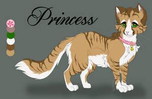 2.Princess Warrior Cat Challenge by ipann
