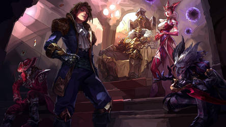 League of Legends - Masters of Cards by NoraNecko