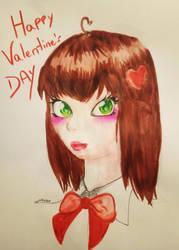 Happy Valentine's day by NoraNecko