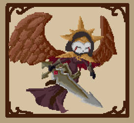 League of pixel -Kayle inquisitor- by NoraNecko