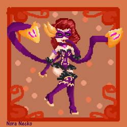 League of pixel - Evelynn Masquerade- by NoraNecko