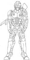Xenoan armor by dracojin