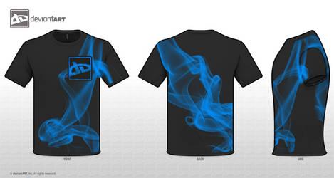 deviantART Code: Blue Smoke by DarylKT