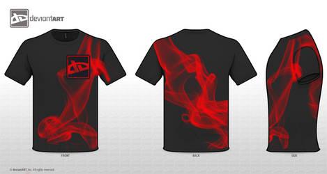 deviantART Code: Red Smoke by DarylKT