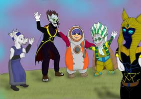 Smart villains club by TiElGar