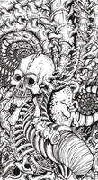 Tattoo Design: Bones by tjiggotjurring