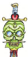 Tattoo Design: New School 1 by tjiggotjurring
