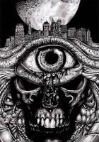 Dark Eye by tjiggotjurring