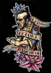 Death Before Dishonor Flash by tjiggotjurring
