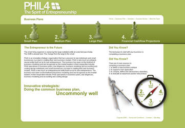 Phil4 Business Planning Site by xantisant