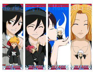 Bleach Bookmarks by Tasuki-no-Miko