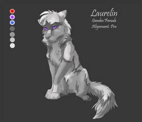 Temp. Char. Sheet 8 - Laurelin by Kiarei-star