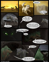 Knife's Edge - OLD Page One by Kiarei-star