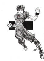 Chun-Li by DunpealChild