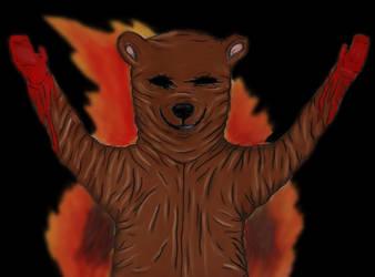 1999 Mr. Bear by charcoalman