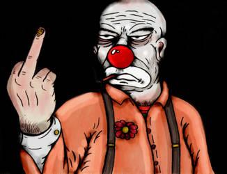 SCP 2912 Clown Breeder by charcoalman