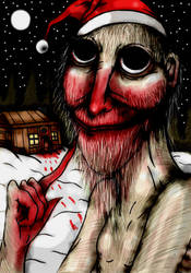 SCP  4666 Merry Christmas by charcoalman