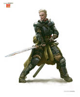 Brienne of Tarth - Game of Thrones/ Mad Max by andrewdoma