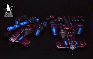 Tau Hammerhead Gunship by FidgetyBudgie
