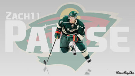 Zach Parise by LuomaGraphics