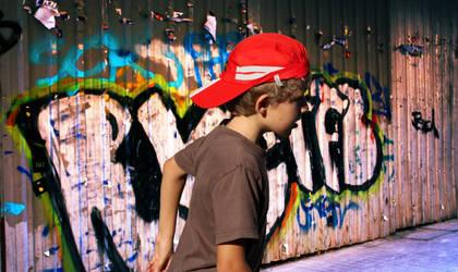 young Banksy by Azallea