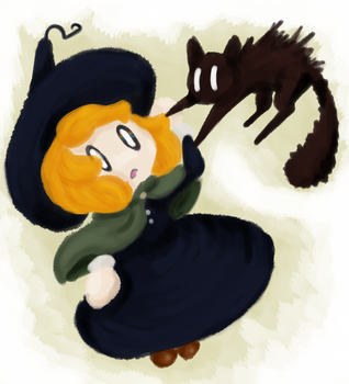 Little Witch by ThisDino