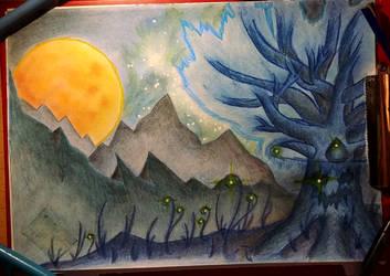 [Background / landscape practice]: Kalid'aar by Siavaa