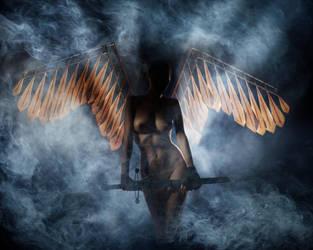 Angel of Revenge by serg-vostrikov
