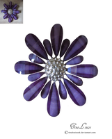 Flower Brooch by TinaLouiseUk