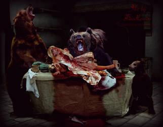 Goldilocks and the three hungry bears by TinaLouiseUk