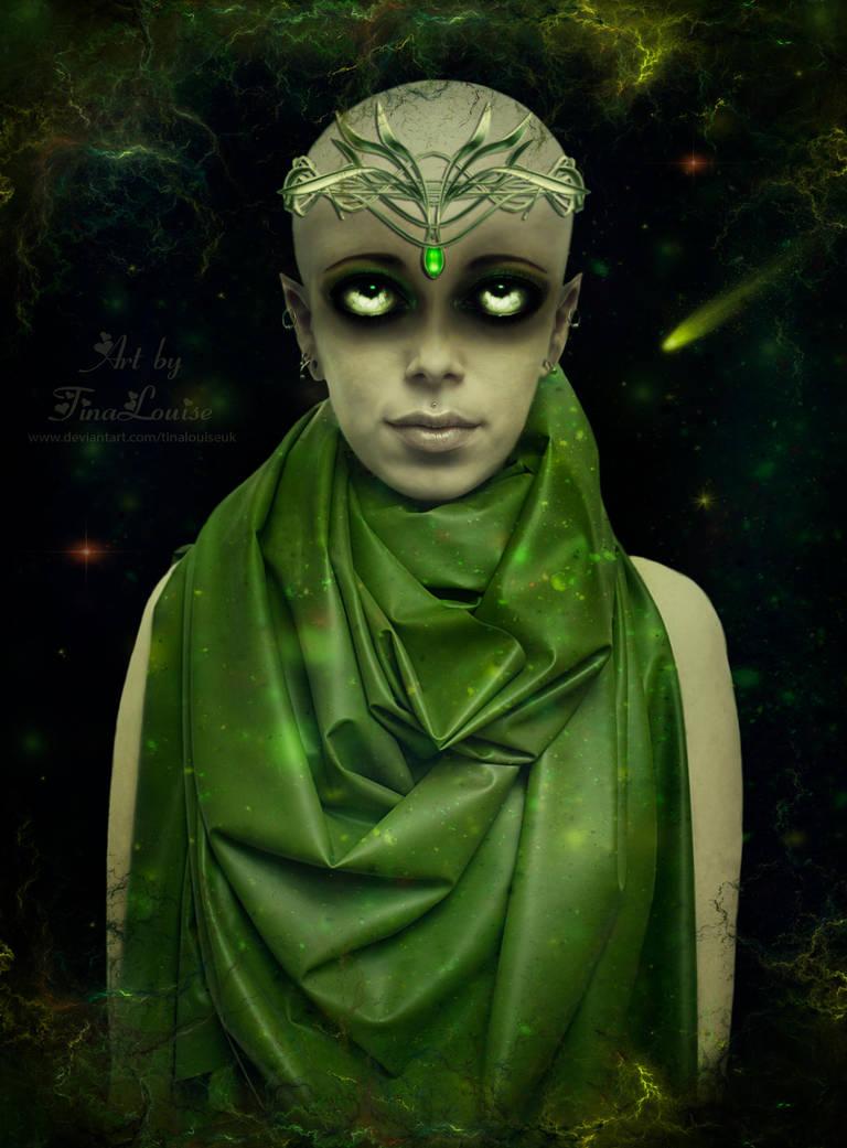 Alien princess by TinaLouiseUk