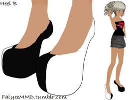 MMD Gaga Heels DL by FaiyeeMMD