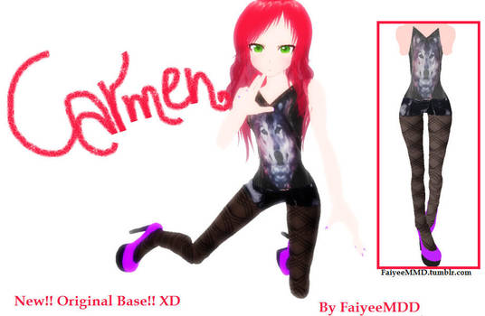 MMD Outfit CO001 - DL by FaiyeeMMD