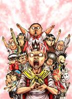 KOMEDO's 1st issue cover by gigaboltmanowar