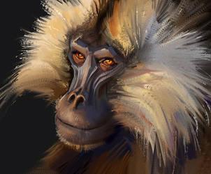 Monkey Study (1 hour) by monsta87