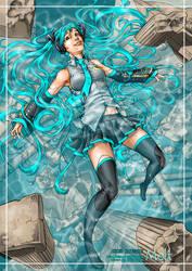Miku Hatsune: Melt by manic-pixie