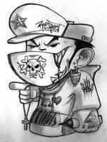 cartoon BBoy by MrShanTwo