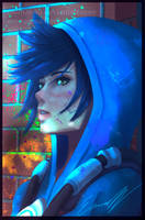 Tracer - Overwatch by Eremas-su
